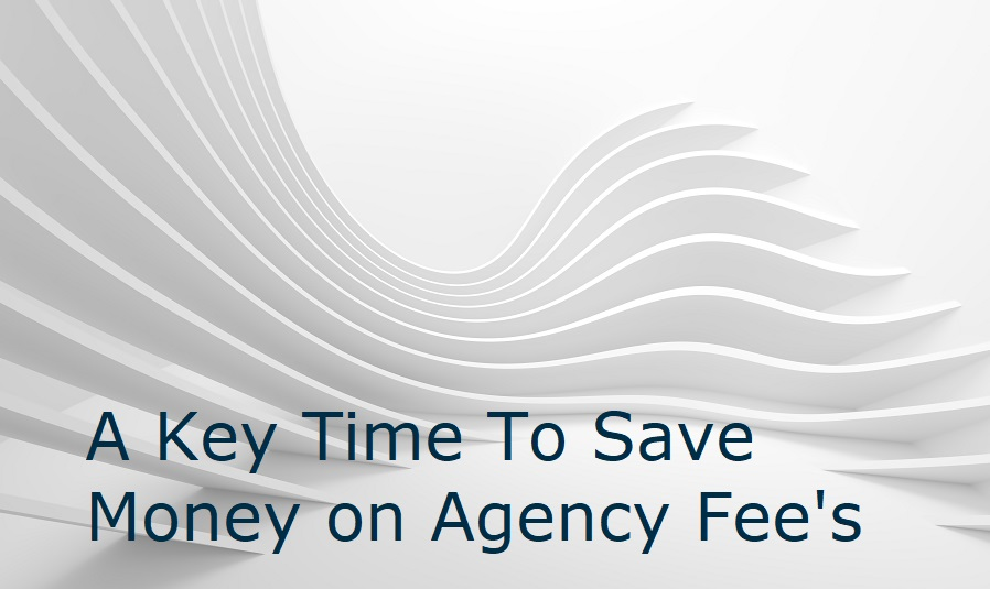 A Key time to save money on agency fees – Hiring tips